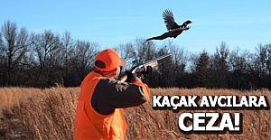 Kuş Cenneti`nde  Avcılara ceza yağdı.
