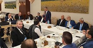 Köktaş İlçe Başkanları ile Ankara'da bir arada