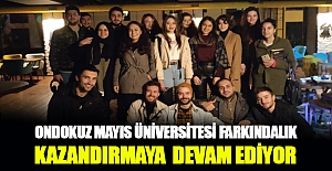 Ondokuz Mayıs Üniversitesi Farkındalık Etkinliği