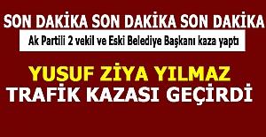 Vekil Yılmaz Antalya`da Kaza Geçirdi