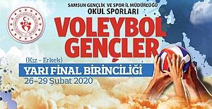 Voleybol Gençler A Yarı Finali Samsun'da
