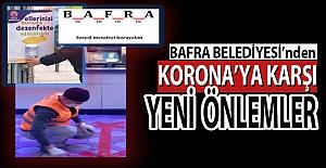 Bafra Belediyesi Yeni Önlemler