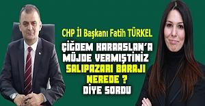 CHP`li Başkan Türkel KARAASLAN'a baraj...