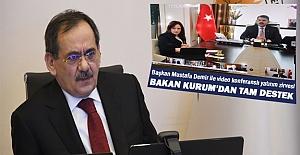 Çevre Bakanı Kurum'dan Yakın İlgi