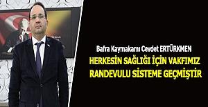 Kaymakam Ertürkmen Duyurdu..