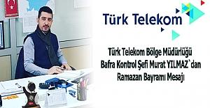 Şef Murat Yılmaz`dan Ramazan Bayramı Mesajı