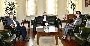 Bafra TSO'dan SAMSUN Valisi Dr. ZülkifDağlı'ya Ziyaret