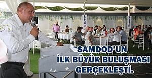 SAMDOD'un ilk büyük buluşması gerçekleşti.