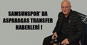 Samsunspor' Da Asparagas Transfer  Haberleri!