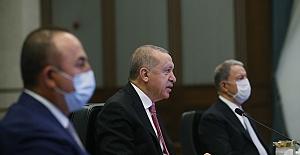 Erdoğan, Türkiye-Rusya-İran Üçlü Zirvesi'nde