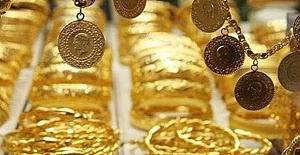 Altın sert düştü
