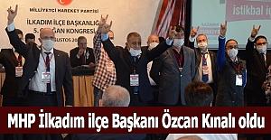 Özcan Kınalı MHP İlkadım ilçe başkanı oldu