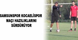 Samsunspor – Kocaelispor Maçı 17.00'de başlayacak
