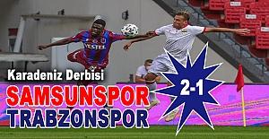 Yılport Samsunspor 2-1 Trabzonspor