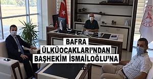 Bafra ÜlküOcakları'ndan Başhekim Ahmet İsmailoğlu'na ziyaret