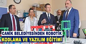 Canik Belediyesinden Robotik Kodlama Ve Yazılım Eğitimi