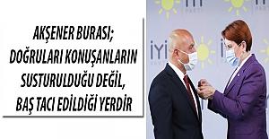 Erhan Usta`nın Rozetini Meral Akşener Taktı
