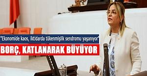 """Hancıoğlu: """"Ekonomide kaos, iktidarda tükenmişlik sendromu yaşanıyor"""""""