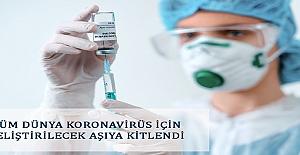 Tüm Dünya Koronavirüs İçin Geliştirilecek...