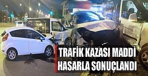 Bafra#039;da trafik kazası