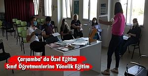 Çarşamba' da Özel Eğitim Sınıf Öğretmenlerine Yönelik Eğitim