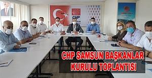Chp Başkanlar Kurulu Toplantısı