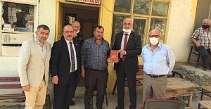 MHP Bafra İlçe Başkanlığı`ndan Mahalle Ziyaretleri