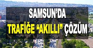 """Samsunda Trafiğe Akıllı""""..."""