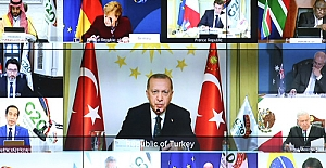 Erdoğan ,G20 zirvesinde konuştu