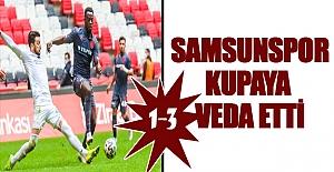 Samsunspor Kupaya veda etti