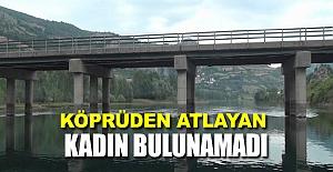 Bafra#39;da kadın köprüden atladı