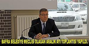 Belediye meclisi olağan aralık ayı...