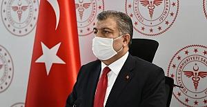 Türkiye bu gün vaka sayısı kaç?