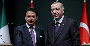 Erdoğan, Conte görüştü