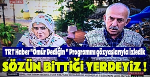 TRT Haber quot;Ömür Dediğin quot;...