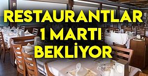 Restoranlar 1 Martı Bekliyor