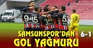 Samsunspor Farklı Kazandı 6-1
