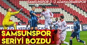 Samsunspor 0-2 Adanademirspor