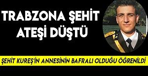 Trabzon'a Şehit Düştü