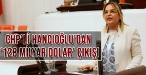 CHP'li Hancıoğlu'dan '128 milyar dolar' çıkışı