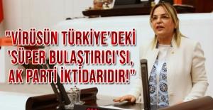 """""""Virüsün Türkiye'deki 'süper bulaştırıcı'sı, AK Parti iktidarıdır!"""
