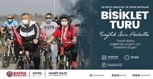 Bafra Belediyesi 19 Mayıs'ta Bisiklet Turu Düzenleyecek