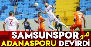 Samsunspor Adanasporu devirdi