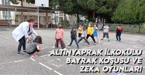 Altınyaprak İlkokulu Bayrak Koşusu Ve Zeka Oyunları