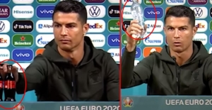 Ronaldo'nun tek bir hareketi 4 milyar dolar kaybettirdi