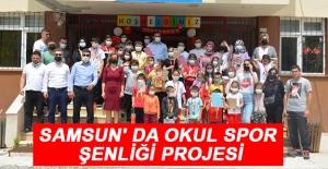 Samsun' Da Okul Spor Şenliği Projesi