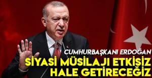 Erdoğan: Başlarına geçireceğiz