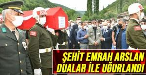 Şehit Emrah Arslan Dualar ile uğurlandı
