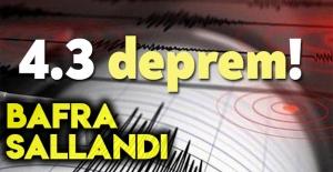 4.3 şiddetinde deprem oldu