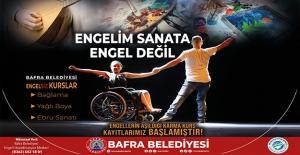 Bafra'da Engeller Sanata Engel Değil